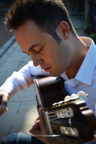 DAVID MARTINEZ, GUITARRA. FESTIVAL DE UBEDA. FESTIVAL SOCIAL.